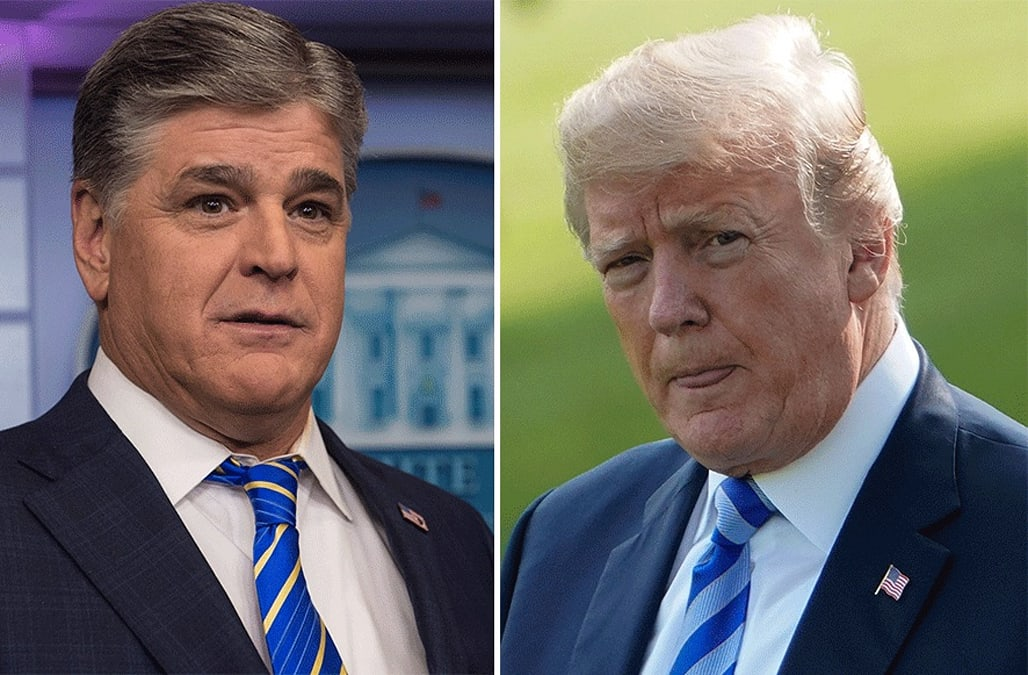 Trump Reportedly Talks To Sean Hannity Most Nights Before Bed Aol News