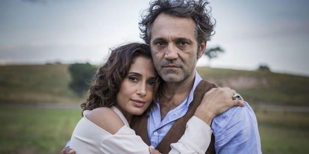 Camila Pitanga e Domingos Montagner contracenaram em 'Velho Chico'