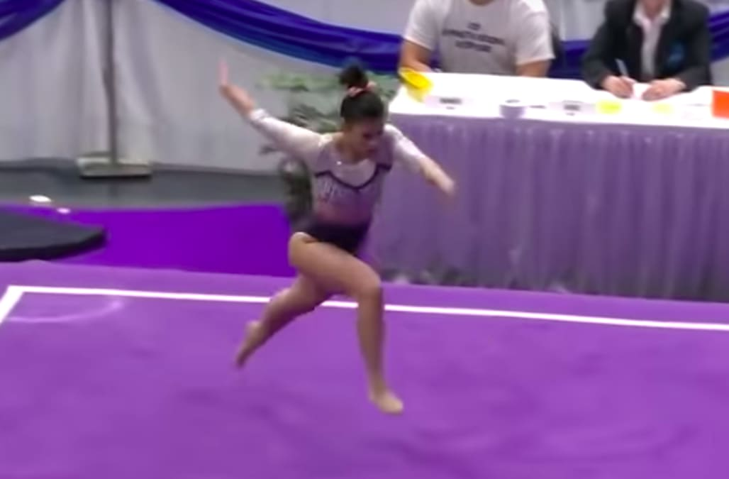 Auburn University Gymnast Speaks Out After Footage Of Devastating