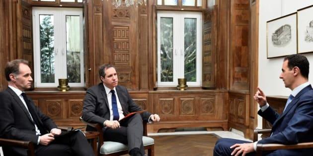 """Bachar al-Assad juge la France """"responsable des tueries"""" en Syrie"""
