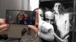 Il replace les selfies inappropriés dans le contexte de l'horreur de la