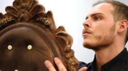 Ce pâtissier français sculpte le chocolat comme de