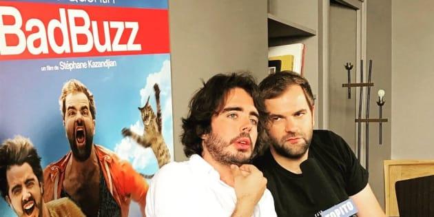 Eric et Quentin contre-attaquent après l'échec de leur film Bad Buzz