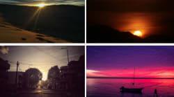 📷 53 fotos de atardeceres en