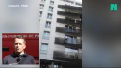 Pour les pompiers de Paris, Mamoudou Gassama est