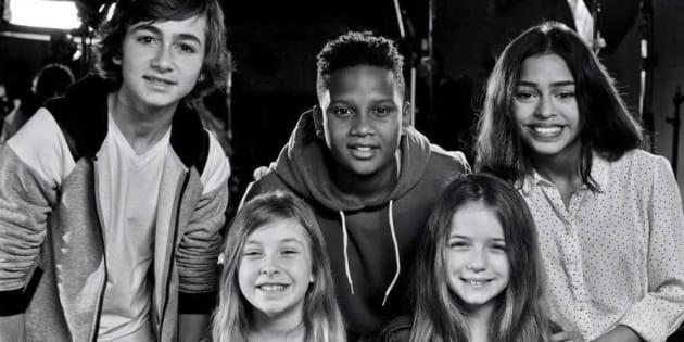"""Les """"Kids United"""" dans """"La chanson de l'année"""" sur TF1."""
