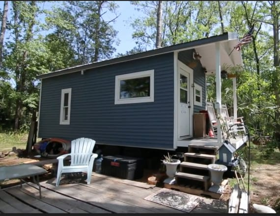 How a tiny home helped its owner save thousands