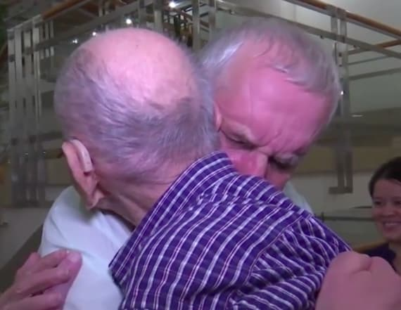 Holocaust survivor meets his brother's only son