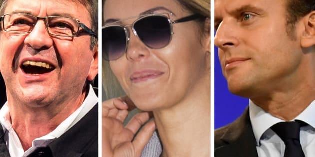 Jean-Luc Mélenchon cite Nabilla pour critiquer les voeux d'Emmanuel Macron.