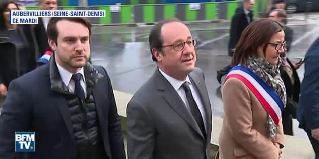 François Hollande était à Aubervilliers, deux semaines après l'affaire Theo.