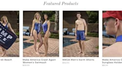 Trump's New 'MAGA'-Themed Swimwear Sinks On