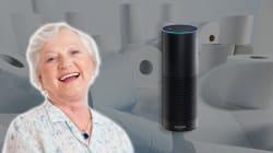 Alexa commande 60 rouleaux de papier toilettes pendant un