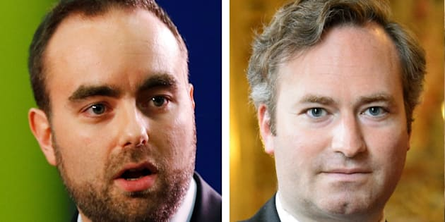 Sébastien Lecornu et Jean-Baptiste Lemoyne, deux nouveaux ministres de droite Macron-compatibles