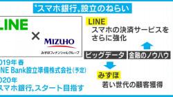 """みずほFGとの銀行業参入にWeChat、NAVERとの提携 内外から攻める""""後発""""LINEの戦略"""