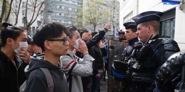 Comment les médias chinois voient la police française après la mort d'un ressortissant
