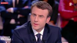 Dans L'Emission politique, Macron tente d'expliquer sa position incompréhensible sur la