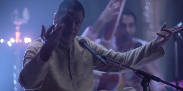 Kiran Phatak, who sings Indian classical bandishes in English