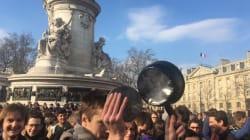Concerts de casseroles à Paris lors d'un