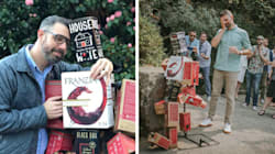 This Man Built Himself A Boxed Wine 'Boyfriend,' And Now They're