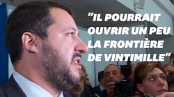 Salvini veut que Macron cesse de