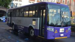 228 autobuses a gas natural sustituirán 822 microbuses en el nuevo corredor