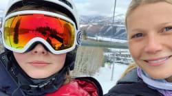Gwyneth Paltrow rimproverata dalla figlia per il selfie su Instagram: