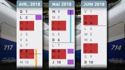 Le calendrier en un coup d'œil des jours de grèves SNCF et Air France, entre vacances et jours