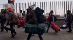 Caravana migrante abandona CDMX con rumbo a Estados