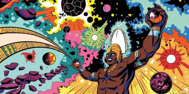 Resultado de imagem para 'Contos dos Orixás' transforma divindades afro em super-heróis de gibi