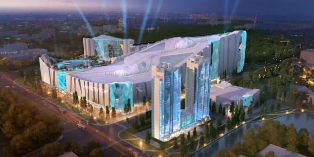 Le plus grand complexe au monde de ski en intérieur va ouvrir à Shanghai.
