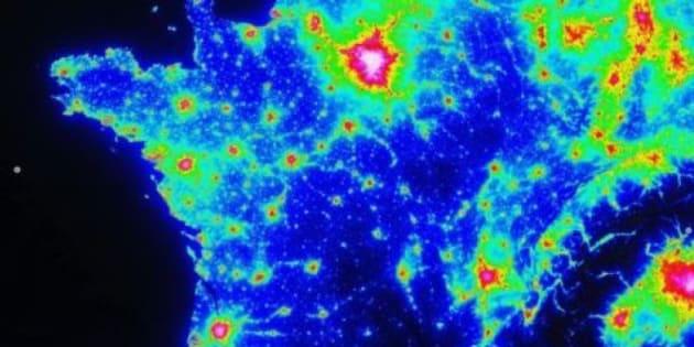 Pour bien profiter de la Nuit des étoiles 2017, découvrez les zones avec le moins de pollution lumineuse