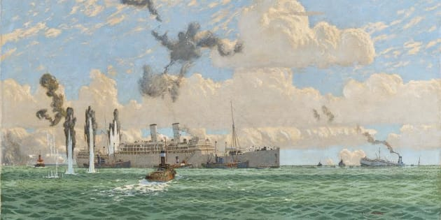 The Evacuation of St. Nazaire is an important historical document for UK maritime history.