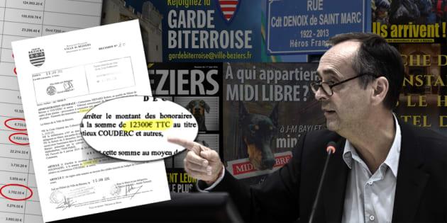 Depuis l'élection de Ménard, Béziers a dépensé plus de 570.000 euros en frais d'avocat et d'huissiers