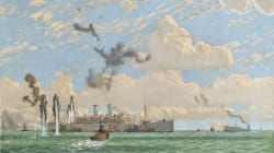 WWII Painting That Disappeared After Churchill Ordered Cover-Up Found In