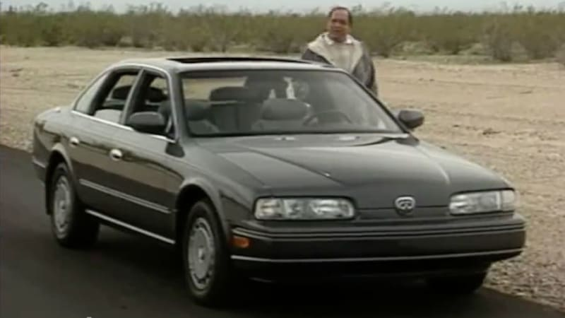 motorweek revisits 1990 infiniti q45 autoblog. Black Bedroom Furniture Sets. Home Design Ideas