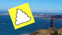 Le Snapchat de la crotte veut rendre propre San