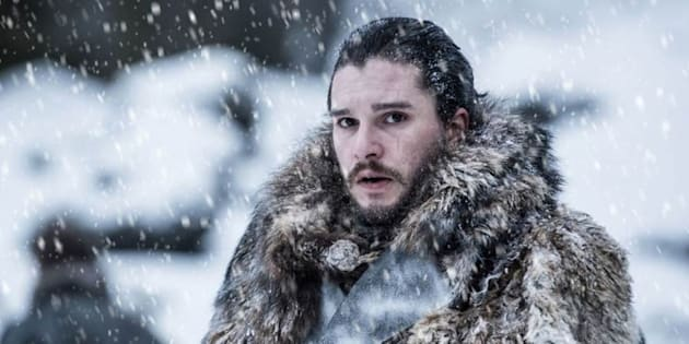 Jon Nieve Casa Stark