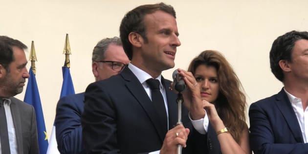 Un pro de la com', Arnaud Benedetti, analyse la première intervention d'Emmanuel Macron.