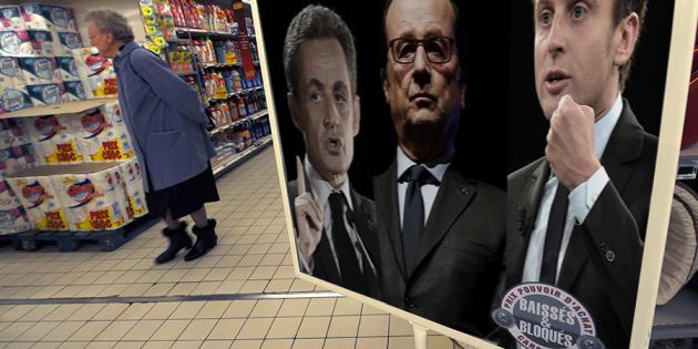 Pouvoir d'achat: Macron, Hollande, Sarkozy, trois méthodes pour le pouvoir d'achat
