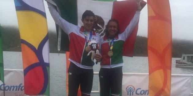 Alexis López y Kenia Lechuga conquistaron el oro en Barranquilla 2018 en la prueba individual par cortos peso ligero de sus respectivas categorías.