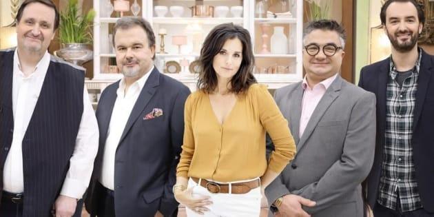"""Le jury de la nouvelle émission """"Le Meilleur Pâtissier, les professionnels"""""""
