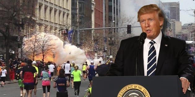"""Trump accuse l'Australiede chercher à exporter """"les prochains terroristes du marathon de Boston""""."""