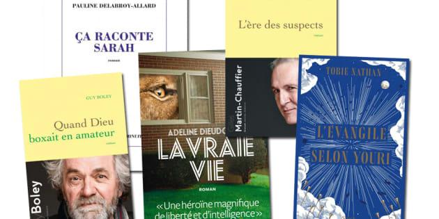 L'un de ces 15 romans remportera le prix Goncourt 2018