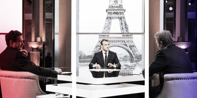 L'interview sur BFMTV a viré au débat explosif et c'est exactement ce que cherchait Macron.