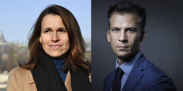 Aurélie Filippetti et Gaspard Gantzer sur RTL avec la bande de Marc-Olivier Fogiel