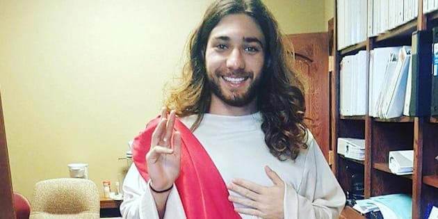 Tinder Jesus has made waves on the Internet for his Tinder profile and pun-filled direct messages.