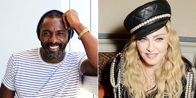 Idris Elba and Madonna