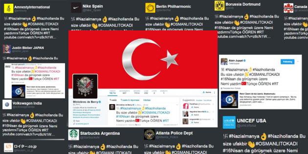 Amnesty International, Bercy, Envoyé Spécial, Alain Juppé, Nike... des comptes Twitter piratés par des pro-Erdogan