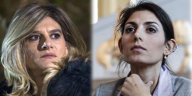 "Federica Angeli contro Virginia Raggi: ""Ieri ero in aul"