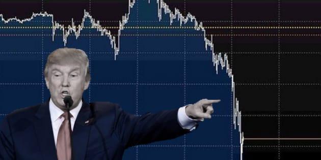 Donald Trump gagne l'élection présidentielle américaine, les marchés financiers paniquent
